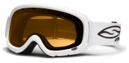Smith Optics Gambler Junior Snow Goggles Goggles - White / Gold
