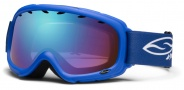 Smith Optics Gambler Junior Snow Goggles Goggles - Blue / Blue Sensor Mirror