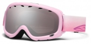 Smith Optics Gambler Junior Snow Goggles Goggles - Pink Flutterby / Ignitor Mirror