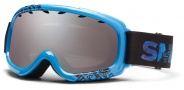 Smith Optics Gambler Junior Snow Goggles Goggles - Cyan Fader / Ignitor Mirror