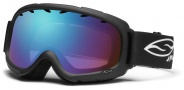 Smith Optics Gambler Junior Snow Goggles Goggles - Black / Blue Sensor Mirror