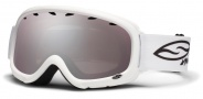 Smith Optics Gambler Junior Snow Goggles Goggles - White / Ignitor Mirror