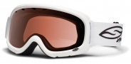 Smith Optics Gambler Junior Snow Goggles Goggles - White / RC36