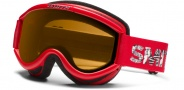 Smith Optics Challenger OTG Junior Snow Goggles Goggles - Red Fader / Gold