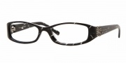Vogue 2535B Eyeglasses Eyeglasses - 1567  Black Glitter (Only in Size 50)