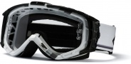 Smith Optics INTAKE-X Bike Goggles Goggles - White / Silver Max-Clear AFC