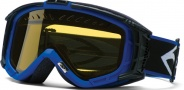 Smith Optics SNOW INTAKE Snowmobile Goggles Goggles - Blue-Yellow AFC Dual Airflow