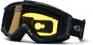 Smith Optics SNOW INTAKE QUICK STRAP Snowmobile Goggles Goggles - Black-Yellow AFC Dual Airflow Lens