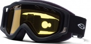 Smith Optics SNOW FUEL V.2 QUICK STRAP Snowmobile Goggles Goggles - Black-Yellow AFC Dual Airflow Lens