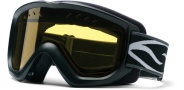 Smith Optics OPTION OTG Snowmobile Goggles Goggles - Black-Yellow AFC Dual Airflow Lens
