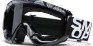Smith Optics OPTION OTG MOTO Goggles Goggles - Black - Silver Static / Clear AFC