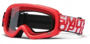 Smith Optics Gambler Mx Moto Goggles Goggles - Red / Clear AFC