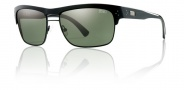 Smith Scientist Sunglasses Sunglasses - Black / Polarized Gray Green