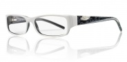 Smith Party Eyeglasses Eyeglasses - White/Black-VCV