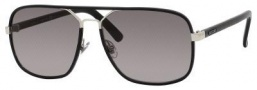 Gucci 1943/S Sunglasses Sunglasses - 0UZA Black Leather (EU gray gradient lens)