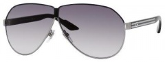 Gucci 1944/S Sunglasses Sunglasses - 0UWO Semi Matte Black Ruthenium (JJ gray shaded lens)