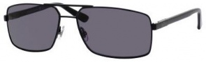 Gucci 1950/S Sunglasses Sunglasses - Semi Matte Black/Smoke Polarized Lens