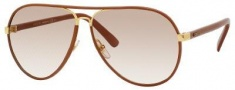 Gucci 2887/S Sunglasses Sunglasses - 0UYZ Cuir Leather (S6 brown gradient lens)