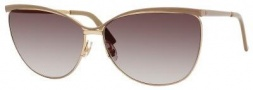 Gucci 2891/S Sunglasses Sunglasses - 0UXG Caramel Rose Gold (JS gray gradient lens)