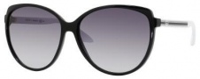 Gucci 3162/S Sunglasses Sunglasses - 0OVF Black White (JJ gray shaded lens)