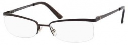 Gucci 2886 Eyeglasses Eyeglasses - 0GJI Semi Matte Dark Brown