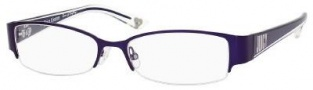Juicy Couture Day Dreamer Eyeglasses Eyeglasses - 01X9 Satin Deep Purple