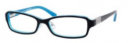 Juicy Couture Wilshire/F Eyeglasses Eyeglasses - 0JDM Black Teal