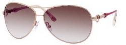 Juicy Couture Beach Bum/S Sunglasses Sunglasses - 0JHM Gold (YY brown gradient lens)