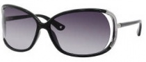 Juicy Couture Shady Day/S Sunglasses Sunglasses - 0D28 Black (GT gray gradient lens)