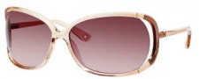 Juicy Couture Shady Day/S Sunglasses Sunglasses - 0JHJ Tan Coral Fade (RJ brown gradient lens)