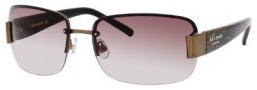 Kate Spade Nia/S Sunglasses Sunglasses - 0JGF Brown Snake (Y6 brown gradient lens)