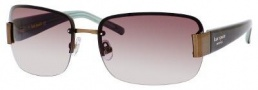 Kate Spade Nia/S Sunglasses Sunglasses - 0JGD Brown Tortoise (Y6 brown gradient lens)