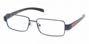 Prada PS 51AV Eyeglasses Eyeglasses - ZYJ1O1 BLUE DEMO LENS