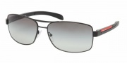 Prada PS 50LS Sunglasses Sunglasses - 1BC1A1 SILVER GRAY