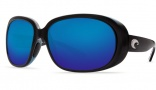 Costa Del Mar Hammock Sunglasses - Black Frame Sunglasses - Gray CR-39 / Costa 400