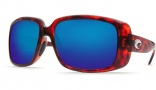 Costa Del Mar Little Harbor Sunglasses - Tortoise Frame Sunglasses - Amber Poly. / Costa 580