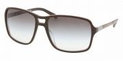 Prada PR 01NS Sunglasses Sunglasses - BRQ4M1 TOP TOBACCO/MILITARY GREEN GRADIENT