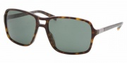 Prada PR 01NS Sunglasses Sunglasses - 2AU3O1 HAVANA GREEN