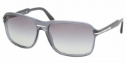 Prada PR 02NS Sunglasses Sunglasses - PD63M1 DENIM GRAY GRADIENT