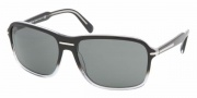 Prada PR 02NS Sunglasses Sunglasses - ZXA1A1 BLACK GRADIENT CRYSTAL GRAY