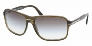 Prada PR 02NS Sunglasses Sunglasses - 0AQ4M1 TOBACCO GREEN GRADIENT