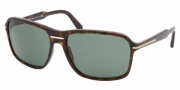 Prada PR 02NS Sunglasses Sunglasses - 2AU3O1 HAVANA GREEN