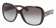 Prada PR 04MS Sunglasses Sunglasses - 0AG3M1 DARK BORDEAUX GRAY GRADIENT