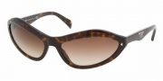 Prada PR 05NS Sunglasses Sunglasses - 1AB3M1 BLACK GRAY GRADIENT