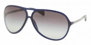 Prada PR 06NS Sunglasses Sunglasses - 0AX3M1 BLUE GRAY GRADIENT