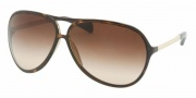 Prada PR 06NS Sunglasses Sunglasses - 2AU6S1 HAVANA BROWN GRADIENT