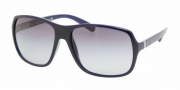 Prada PR 07NS Sunglasses Sunglasses - 0AX3M1 BLUE GRAY GRADIENT