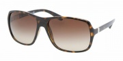 Prada PR 07NS Sunglasses Sunglasses - 2AU6S1 HAVANA BROWN GRADIENT