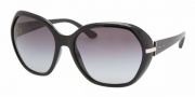 Prada PR 14NS Sunglasses Sunglasses - 1AB3M1 BLACK GRAY GRADIENT
