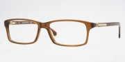 Brooks Brothers BB 730 Eyeglasses Eyeglasses - 6034  MEDIUM BROWN DEMO LENS